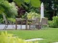 Sitzplatz, Terrasse im Garten