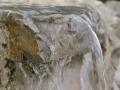 Stein und Wasser im Garten, Detail Wasserfall