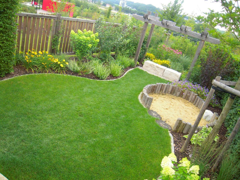 Berühmt Holz im Garten › Der Service Gärtner - Gartengestaltung JB87
