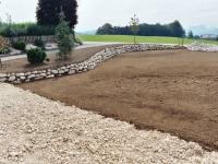 Rasen Grob- und Feinplanie Teil 2