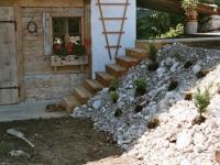 Steingartenbeet als Böschungsbepflanzung Teil 2