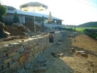 Baustelle live! Stainzer Plattengneis für Trockensteinmauer