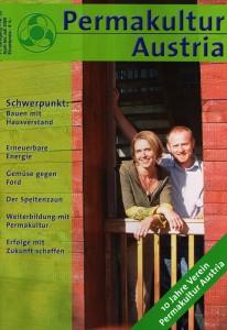 Titelseite der Zeitschrift Permakultur Austria