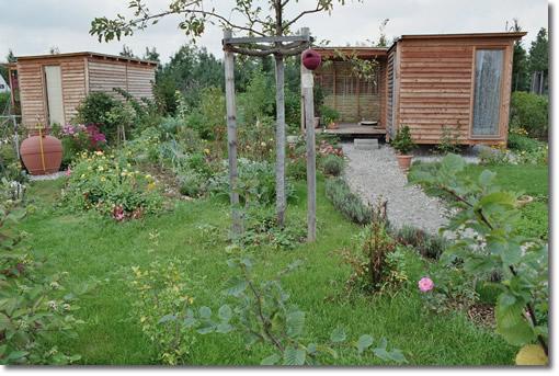 Obstgarten, Gemüsegarten