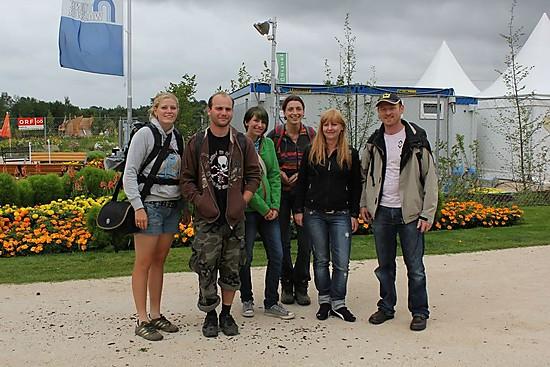 von links: Manu, Manfred, Corinna, Stefi, Petra und Reinhard