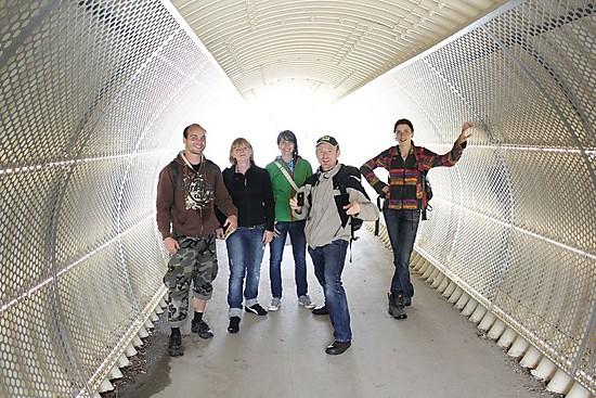 von links: Manfred, Petra, Corinna, Reinhard und Stefi