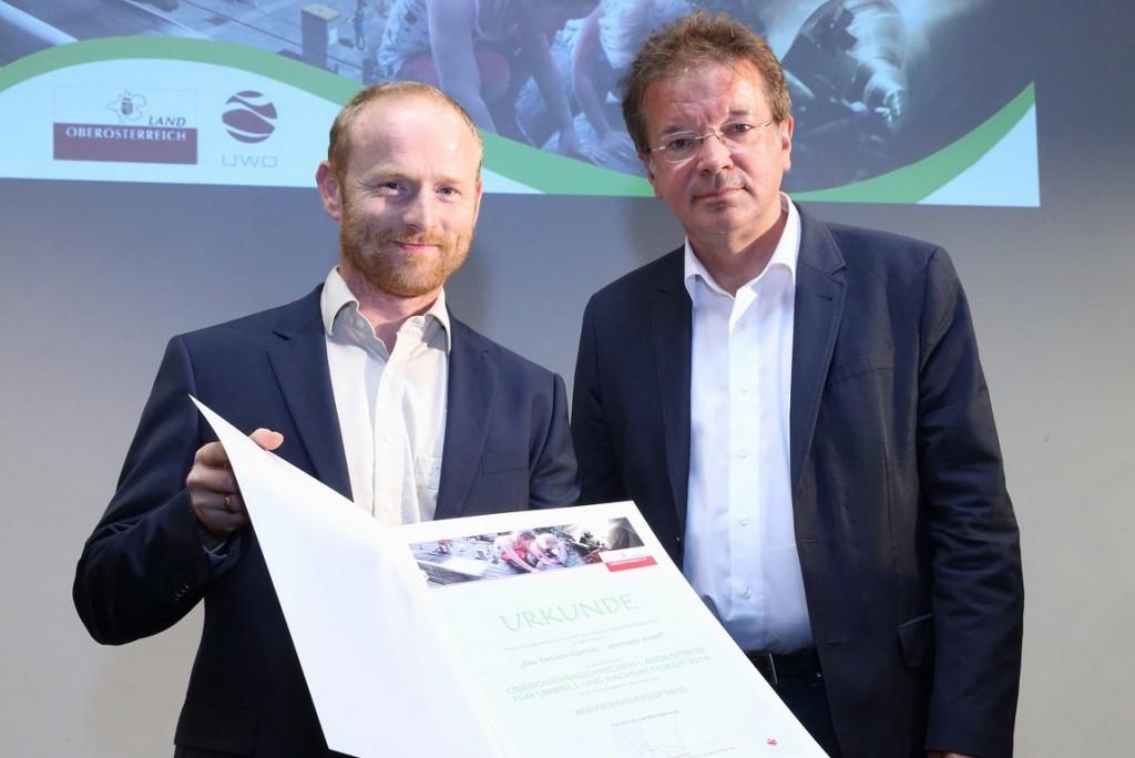 Servicegärtner Gewinner des OÖ Landesumweltpreises