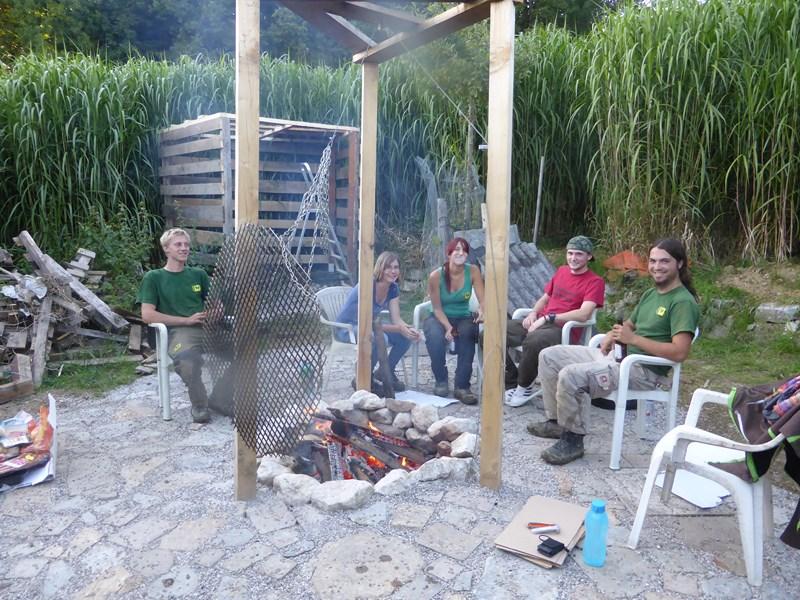 Einweihungsfeier, Grillplatz, Der Service Gärtner