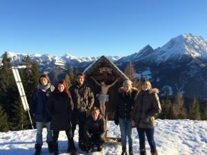 Gruppenfoto am Hochschwarzeck