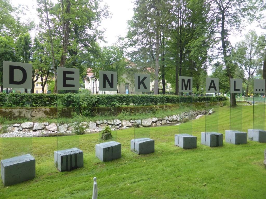 Landesgartenschau Bad Ischl, Denkmal-Skulpuren