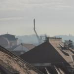 die Grazer Freiheitsstatue, entdeckt von der Kastner und Öhler Dachterrasse