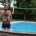 Poolparty bei Cori