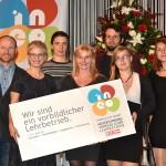 Ineo-Award 2017 Der Service Gärtner und WKOÖ Doris Hummer