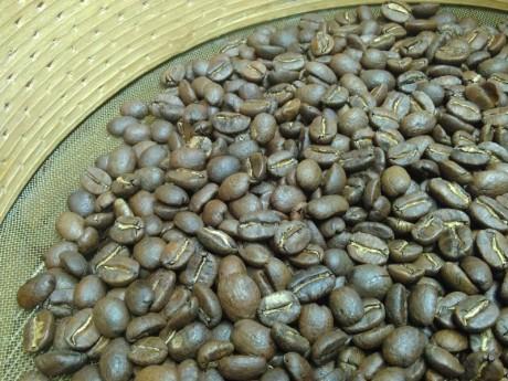 perfekt geröstete Kaffeebohnen